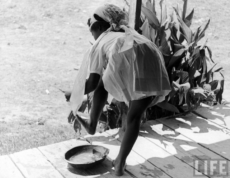 Daughter of sharecropper
