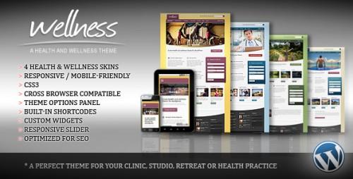12_Wellness - A Health & Wellness WordPress Theme