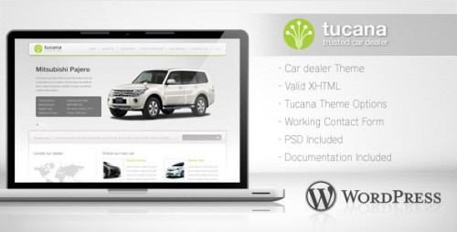 30_Tucana - Car Dealer WordPress Theme