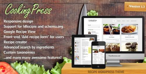41_CookingPress - Recipe & Food WordPress theme