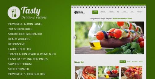 7_Tasty Responsive Food WordPress Theme