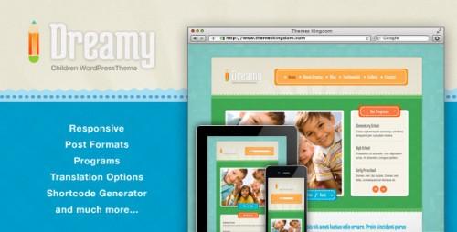 8_Dreamy - Responsive Children WordPress Theme