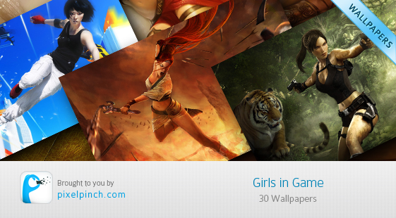 Girls in Game Wallpaper Collection