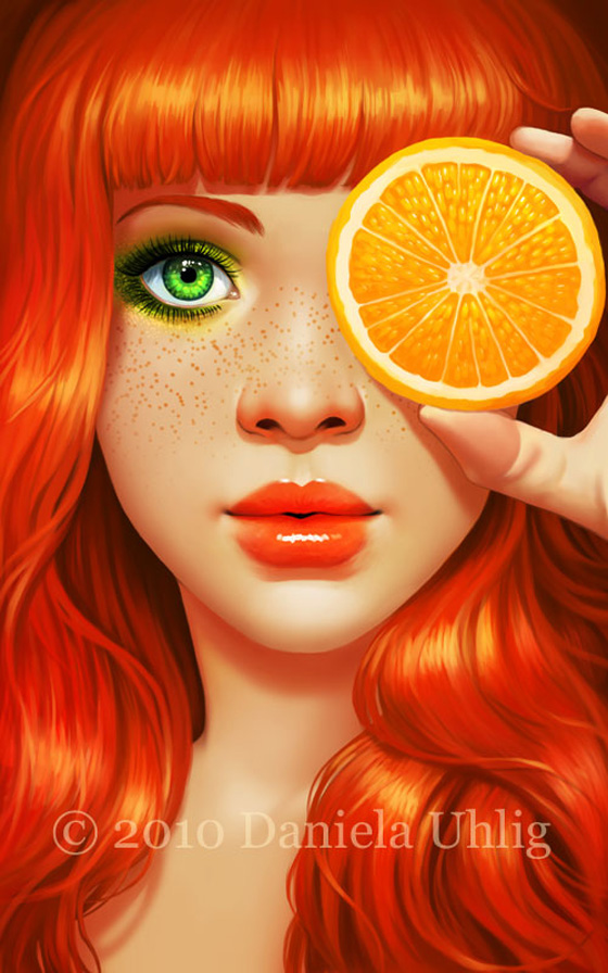 Red Orange by lolita art