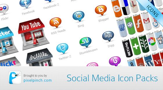 Social Media Icon Packs