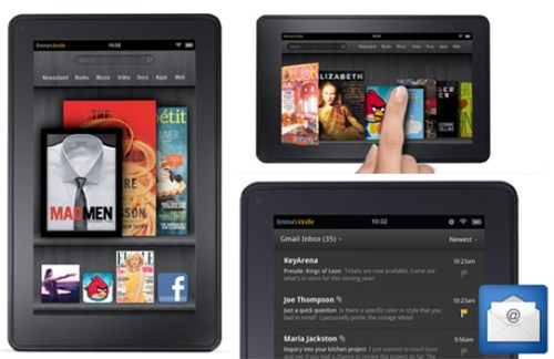 Amazon Kindle Fire interface apps