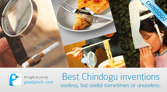 best chindogu inventions