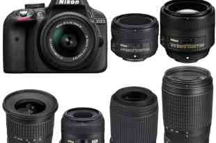 best nikon d3300 lenses