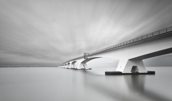 long exposure bridge photograph