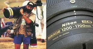 Nikkor 1200-1700mm f/5.6-8.0 Lens