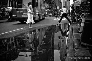 hartel black and white street photography art