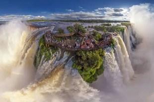 Iguasu Falls, Argentina and Brazil