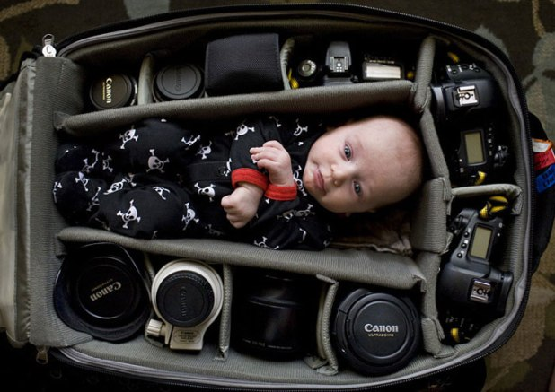photographer baby in bag (9)