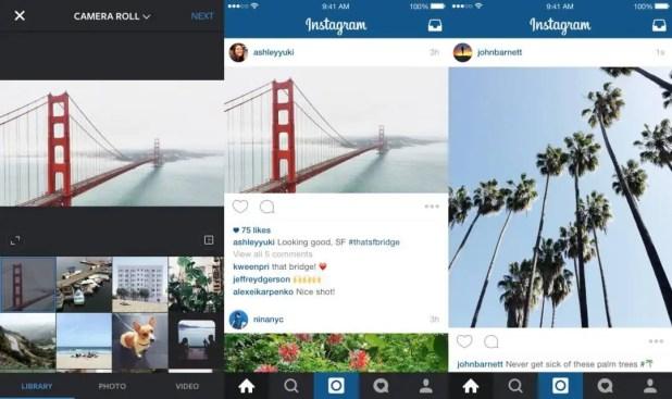 Instagram framing