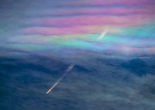 contrail photography