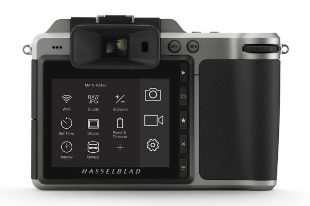 Hasselblad X1D touchscreen