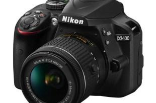 Nikon D3400 features specs samples