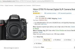 $300 off on Nikon D750 *Deal Alert*