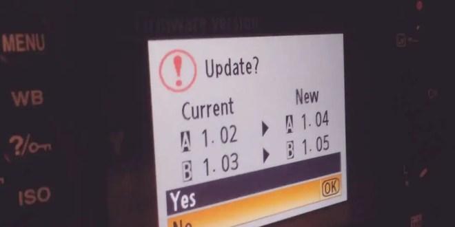 New Firmware Update for Nikon D7200 D500 D750 D810