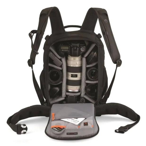 Lowepro flip side aw400 backpack for dslr