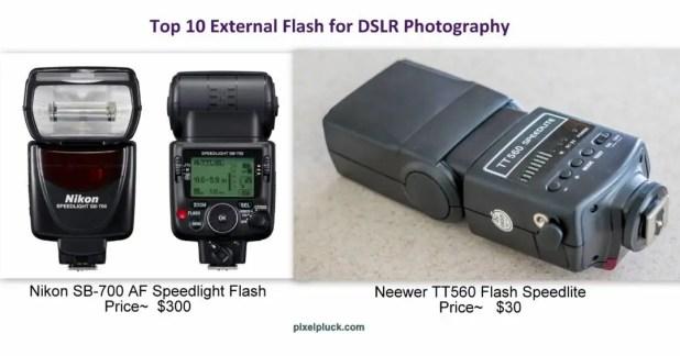 Top 10 External Flash for DSLR Photography