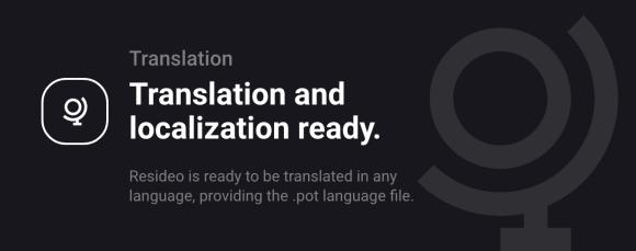 Resideo - Real Estate WordPress Theme - Translation