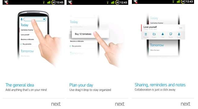 Any.do app: for your todo list