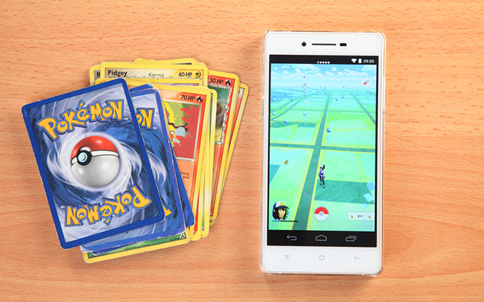 How Pokémon Card Game Measures up against Pokémon Go
