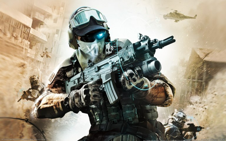 Go Behind Enemy Lines in Ghost Recon game