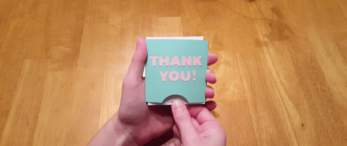 Double Pop Out Card