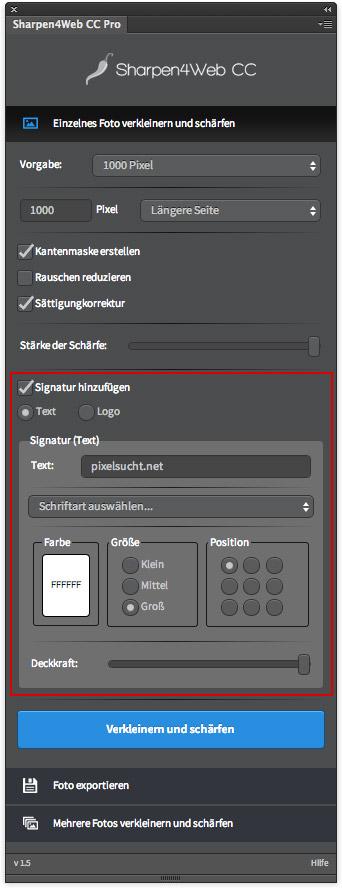 Sharpen4WebCC_Text-Signatur