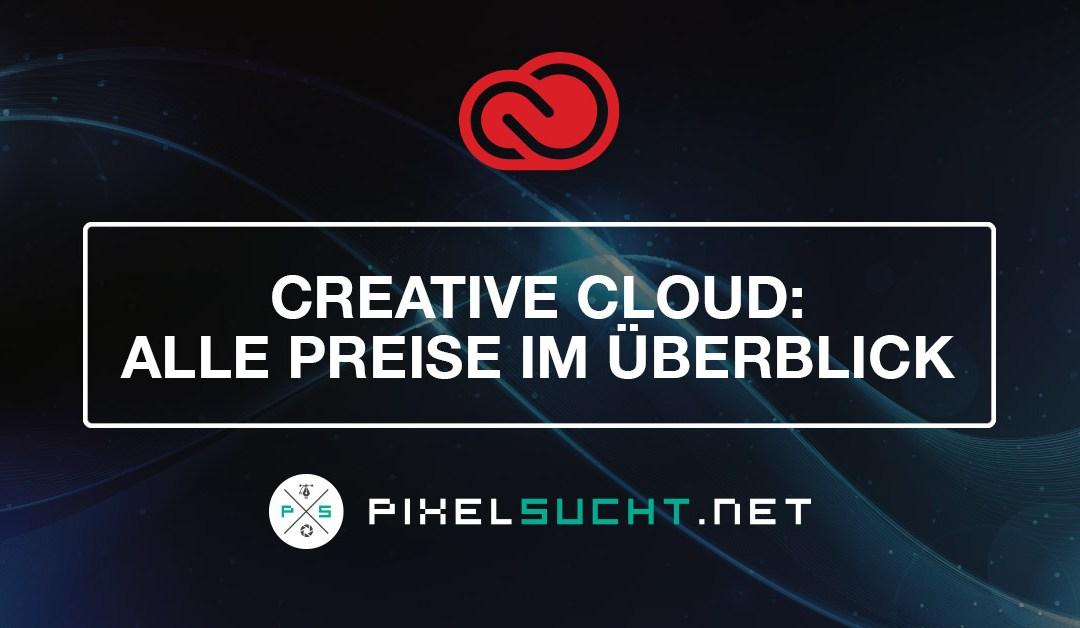 Creative Cloud – Alle Preise/Kosten im Vergleich (2020)