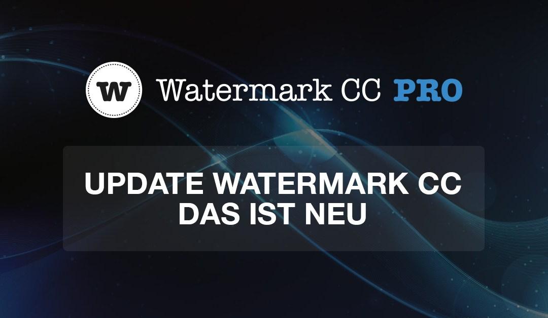 Update für Photoshop-Panel Watermark CC – Das ist neu