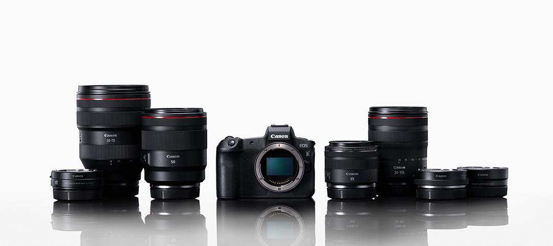 Canon: Spiegellose Vollformat-Kamera EOS R und neue Objektive angekündigt