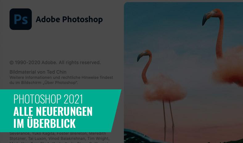 Photoshop 2021 – Alle Neuerungen im Überblick