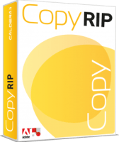 Caldera CopyRip packaging