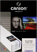 Papier CANSON Platine Fibre Rag