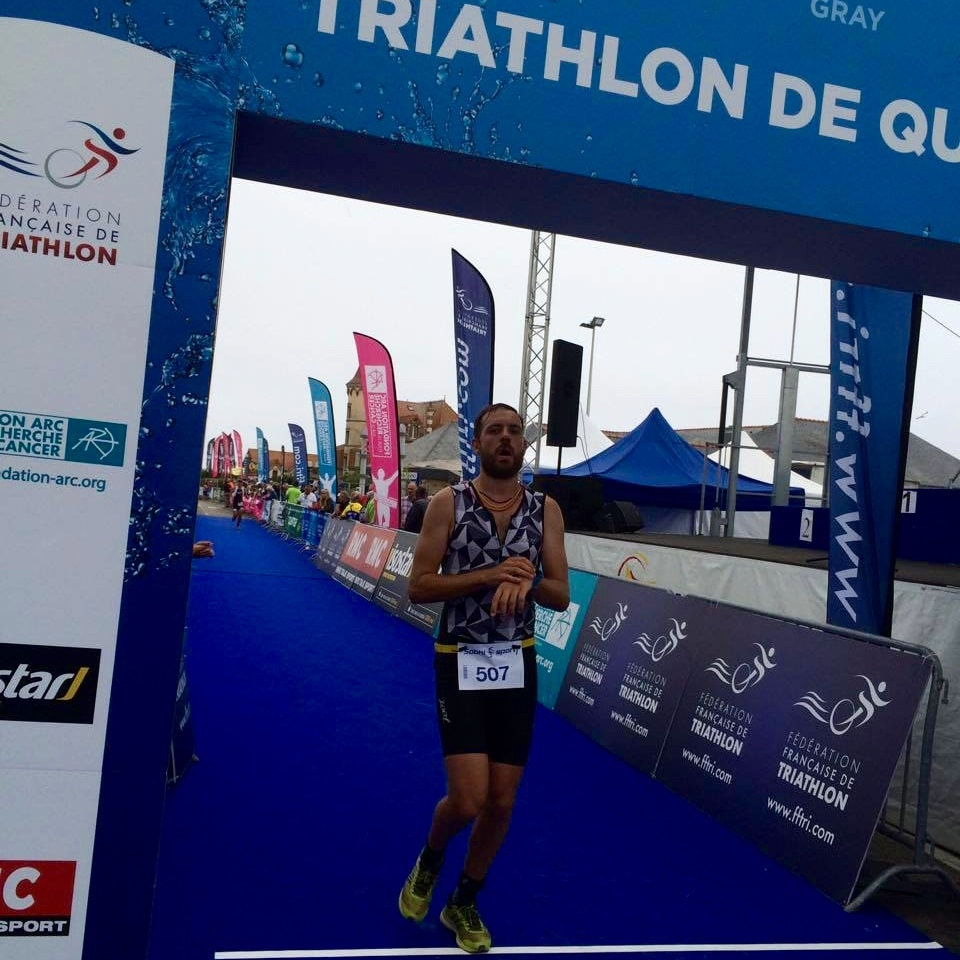 Triathlon de Quiberon - finish