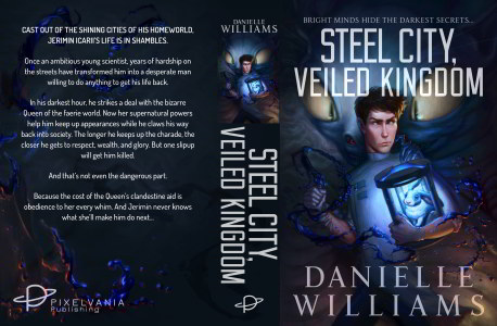 Thumbnail image of STEEL CITY, VEILED KINGDOM's print cover