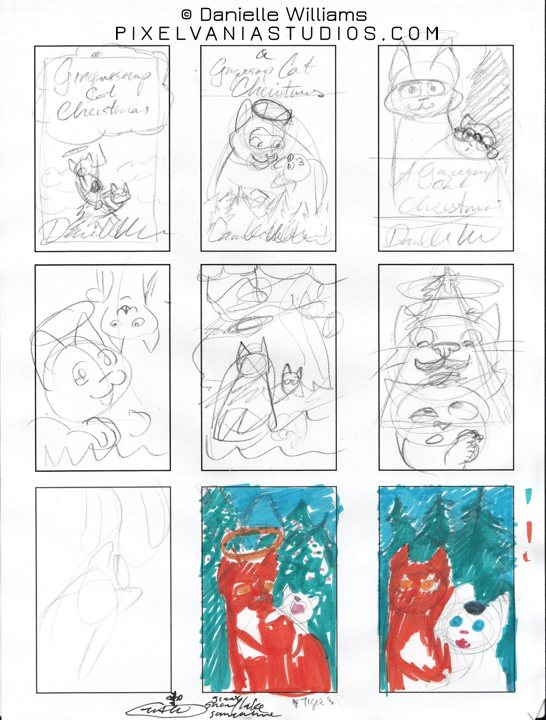 More thumbnails for A GINGERSNAP CAT CHRISTMAS ebook cover
