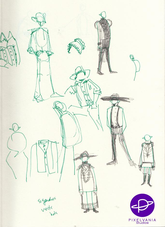 Ink And Sharpie Nosferatu Costume Concepts