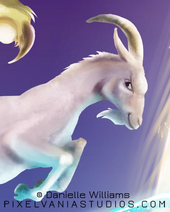 Goat detail
