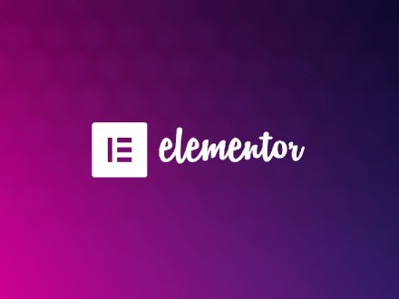 Wordpress website using Elementor page builderr
