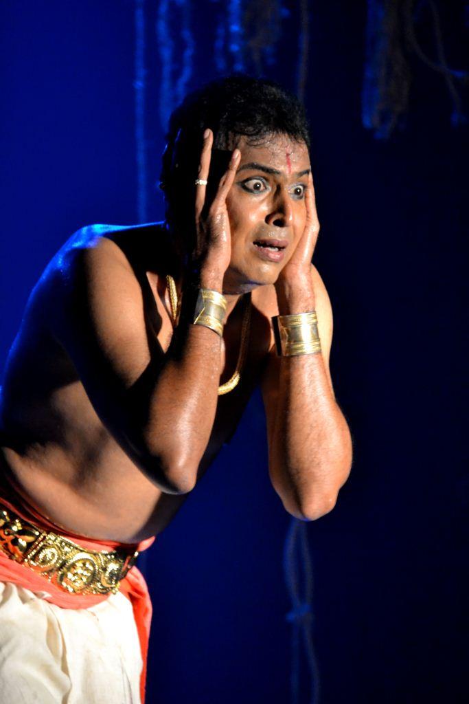 Vaibhav Arekar's solo performance of 'Debotar Grash'