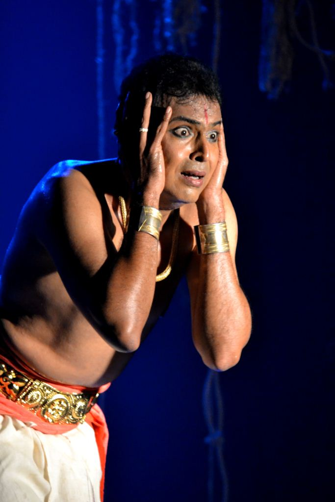 Vaibhav Arekar's solo performance of 'Debotar Grash'