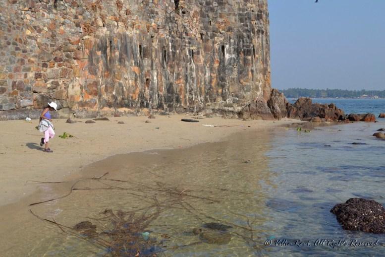 Strip of beach near Sindhudurg Fort