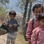 Uttarakhand children going to school