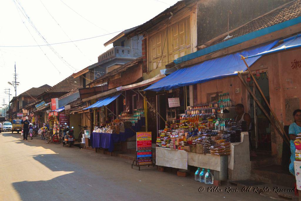 A market in Tarkarli, Malvan area