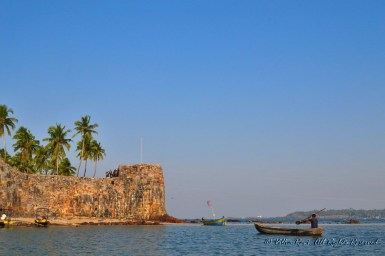 Sindhudurg Fort-View from the boat