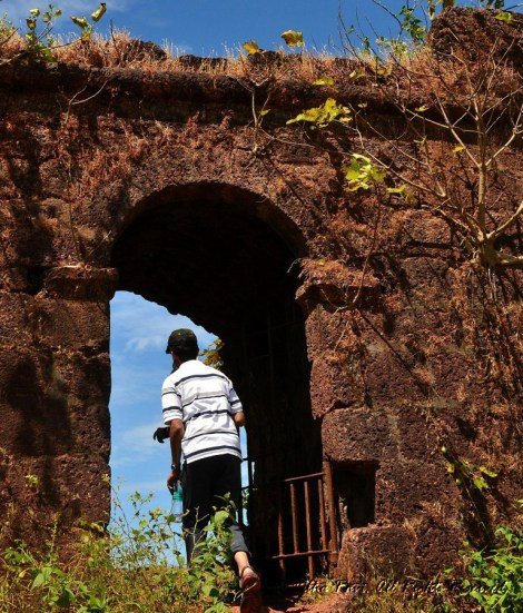 Archway at Chapora Fort Goa